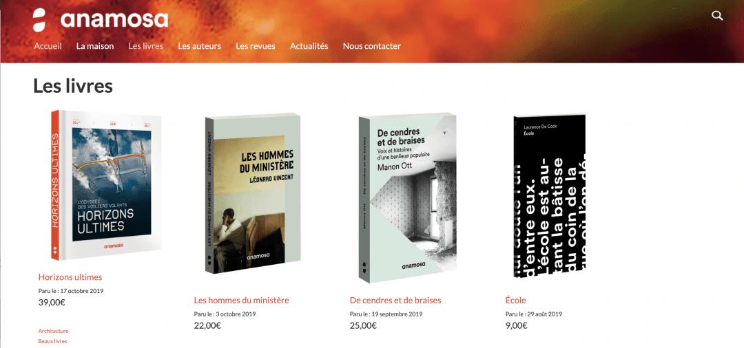 Les Livres Anamosa Et Lesmotspourleweb